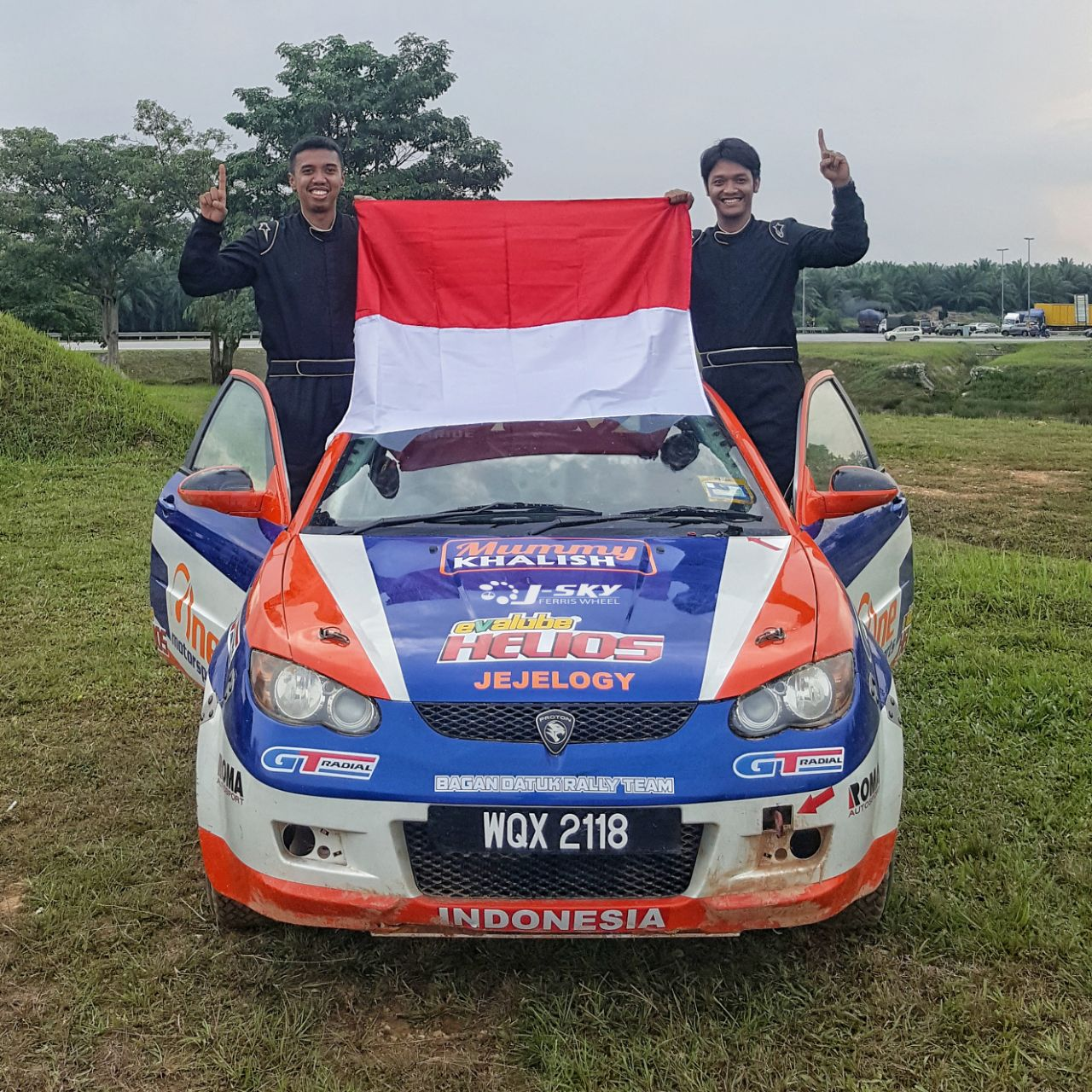 One Motorsport GT Radial Evalube Helios mewujudkan Impian Anak Bangsa