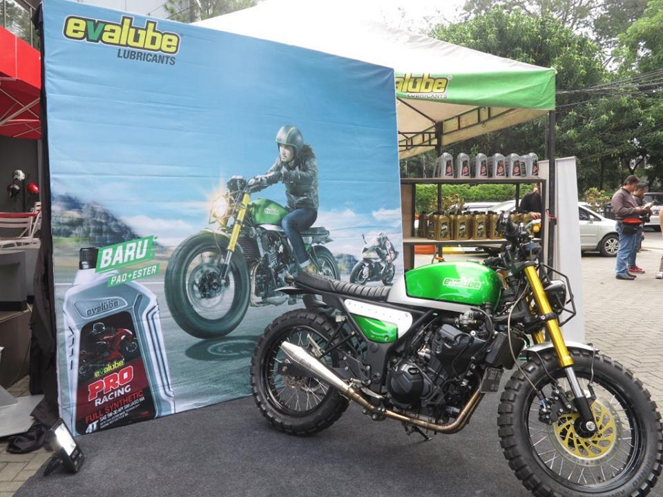 Komunitas Motor Bandung Merasakan Sensasi Oli Motor Terbaik Evalube