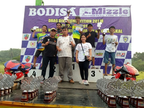Evalube Dukung Kejurda Drag Bike Bodisa Motorsport
