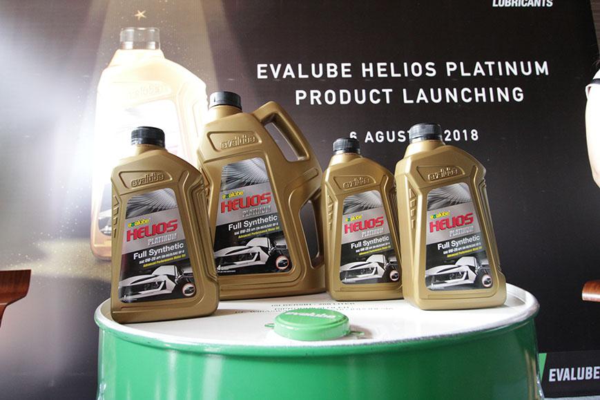 Ikuti Perkembangan Tren Otomotif di Indonesia, Evalube Luncurkan Pelumas Evalube Helios Platinum di GIIAS