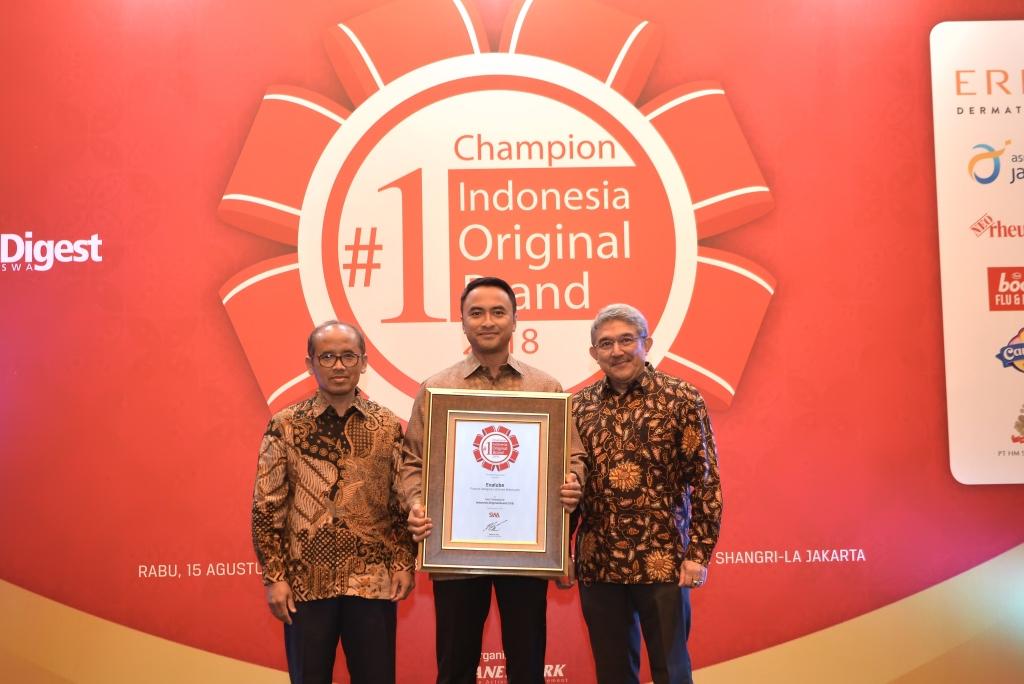 Evalube Kembali Meraih Indonesia Original Brand Untuk Kategori Pelumas Motor