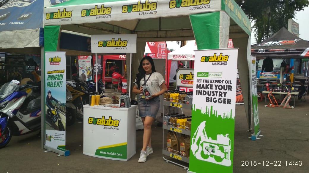 Ramaikan Indoclub Championship, Evalube Boyong Oli Motor Matic Terbaik