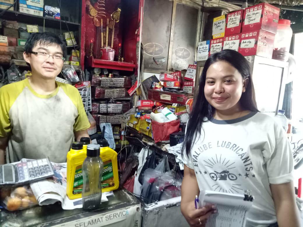 Medan Jadi Salah Satu Kota Target Aktivitas Sales Blitz Evalube
