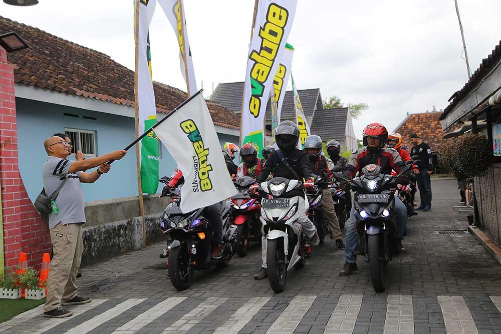 Evalube City Rally Jadi Tempat Seru Seruannya Komunitas Gilamotor