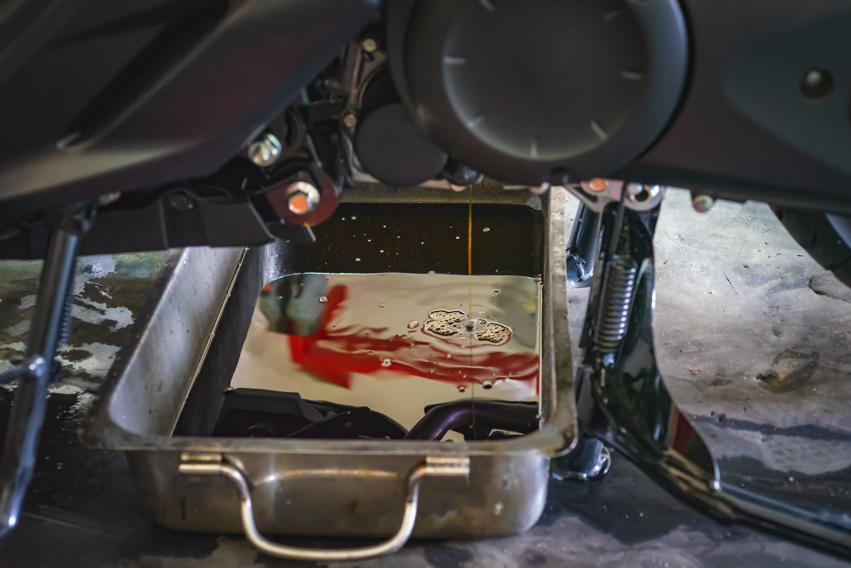 Dampak Buruk Tidak Mengganti Oli Gardan pada Motor Matik