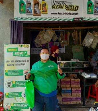 Event Ganti Oli Evalube di Bengkel Harapan Indah, Bekasi